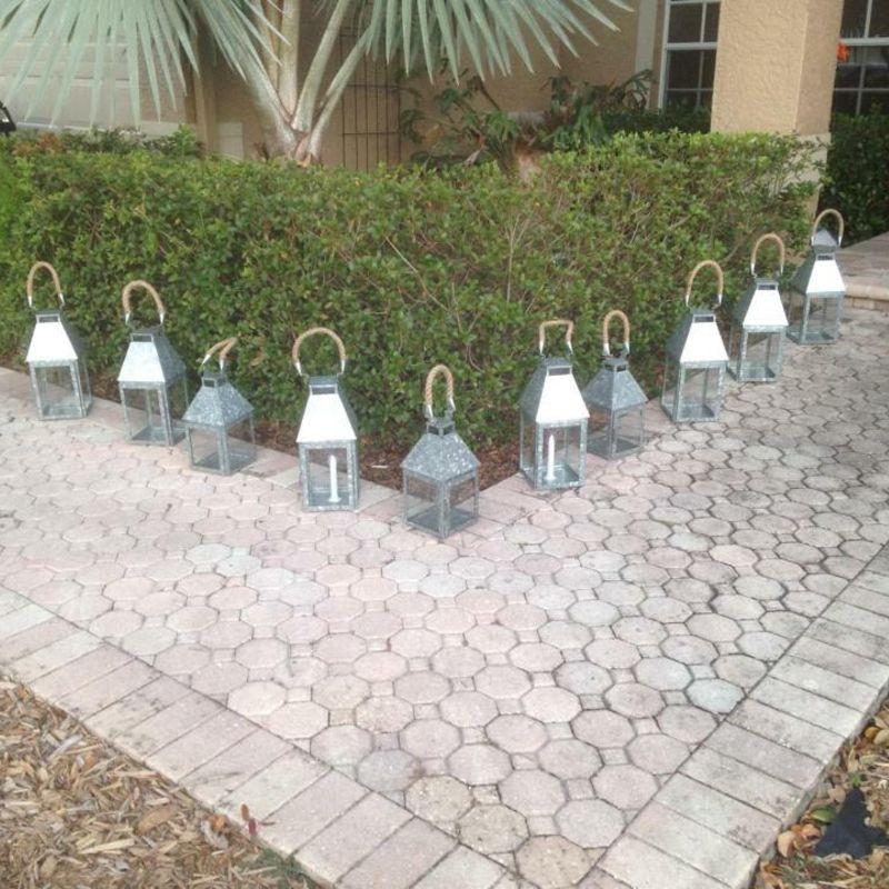 Galvanize-lanterns